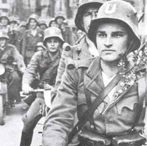 Croatian Ustashi soldiers.