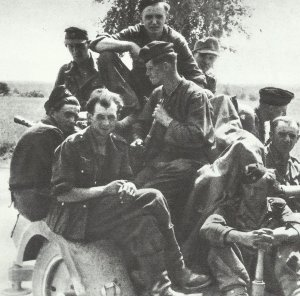 retreat at the Eastern front