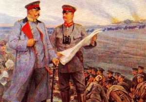 Hindenburg and Ludendorff at Tannenberg