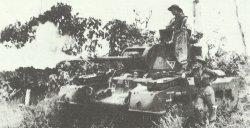 Matilda Frog flame-thrower tank