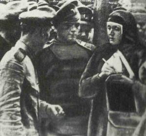 Russian General Samsonovs wife