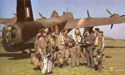 Stirling bomber of the RAF Bomber Command