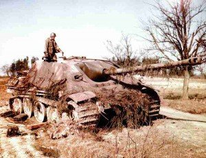 destroyed Jagdpanther