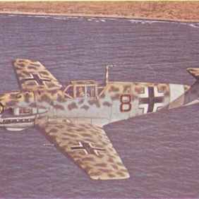 Bf 109 E-4/Trop of JG 27, North Africa