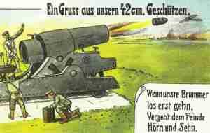 Miracle weapon 'Big Bertha'