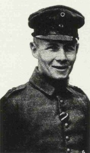 Erwin Rommel as young officer