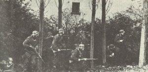 German troops near Arnheim