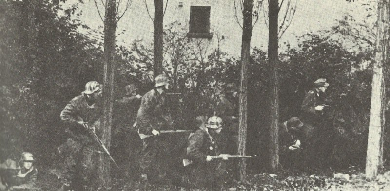German troops near Arnheim