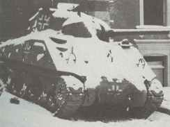 M4 Sherman in use by Wehrmacht