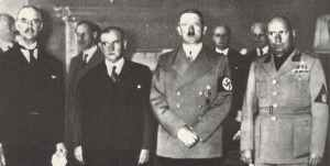 Munich conference, September 29, 1938