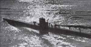 Guenther Priens U-47 from VII B is leaving for Scapa Flow