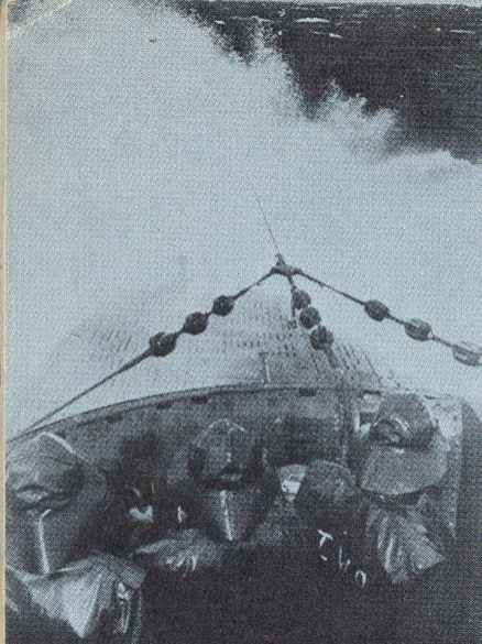 U-boat in the Biscay during heavy seas