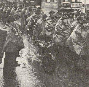 BEF arrives in France 1939