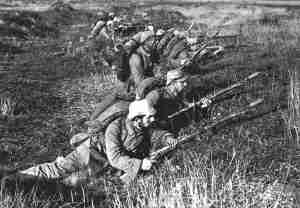 German soldiers on the Eastern Front 1914