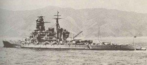 Japanese battlecruiser Kirishima