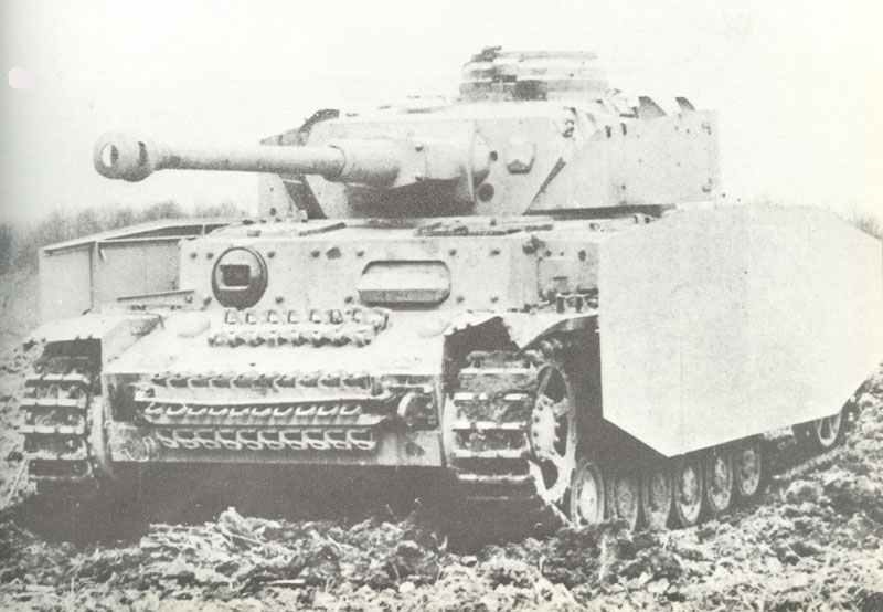 PzKpfw IV Ausf G, with extra armour skirts