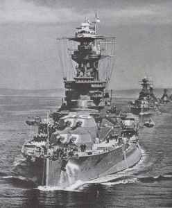 Battleship Royal Oak.