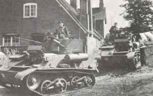 Light tanks MK VIC