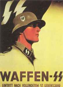 Recruiting poster of the Waffen-SS