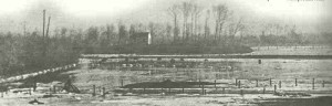 flooded land in belgium 1914