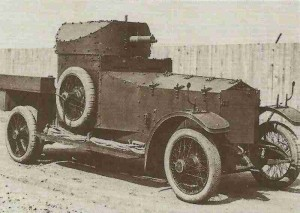 Rolls-Royce Admirality Pattern armoured car 1914