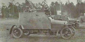 Russian armoured cars