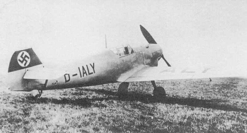 Me 109 V-3