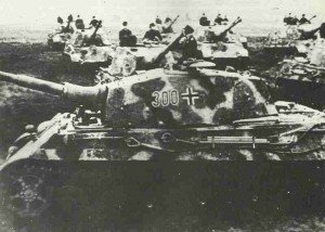 heavy tank battalion with Tiger II