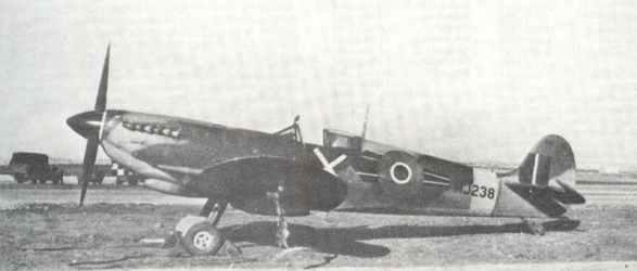 Spitfire IX, No.73 Squadron