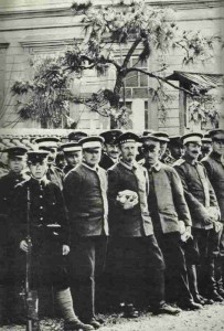 German PoW's in Japan