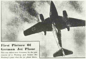 First allied pic of Me 262