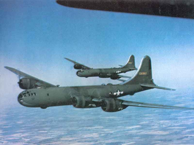 first production B-29s