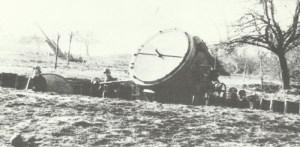 German searchlight Scheinwerfer 37