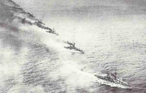 Admiral Spee's cruiser squadron