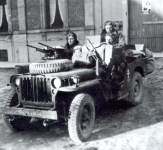 French SAS jeep