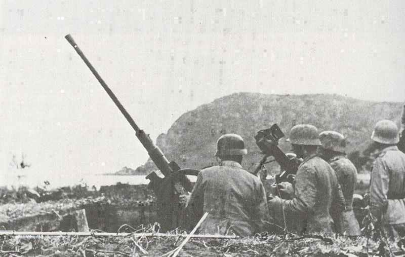 Image result for ww2 german 20mm anti aircraft gun