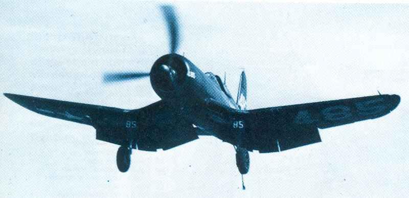 F4U Corsair flown aboard USS Essex