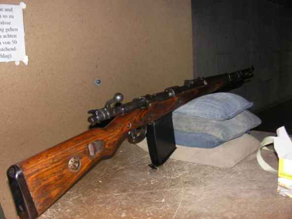 Mauser 98k with trench magazin