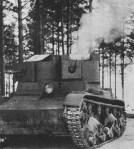 Russian T-26TU tank
