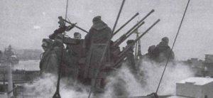 Flakvierling of the Cruiser 'Prinz Eugen'
