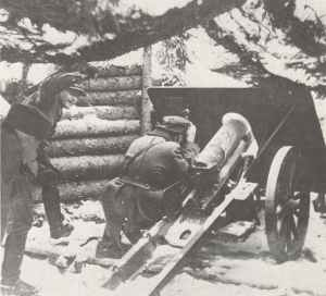 Finnish 75mm mountain howitzer