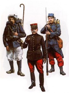 French soldiers 1914