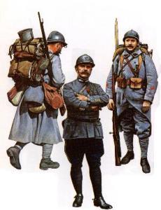 French infantry 1915-18