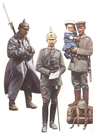 Uniforms Of The Germany Army In World War One 1914 1918