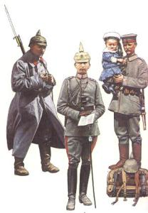 German soldiers 1914