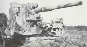 Knocked out Eight-Eight gun in Tunesia 1943.