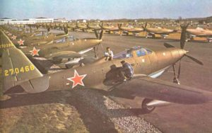 P-63 Kingcobra lend-lease aircrafts for Russia