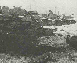 remains of a German defensive position Vistula