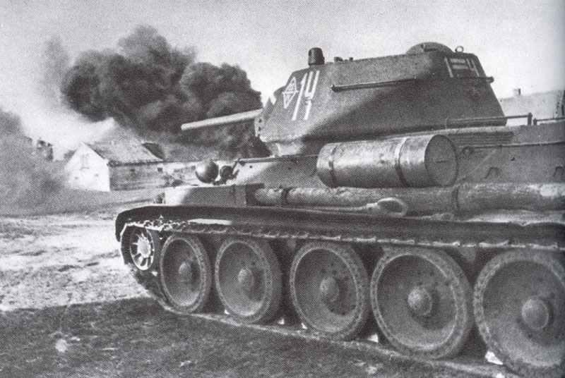 T-34 in street fighting
