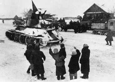 T-34 during Stalingrad counter-offensive